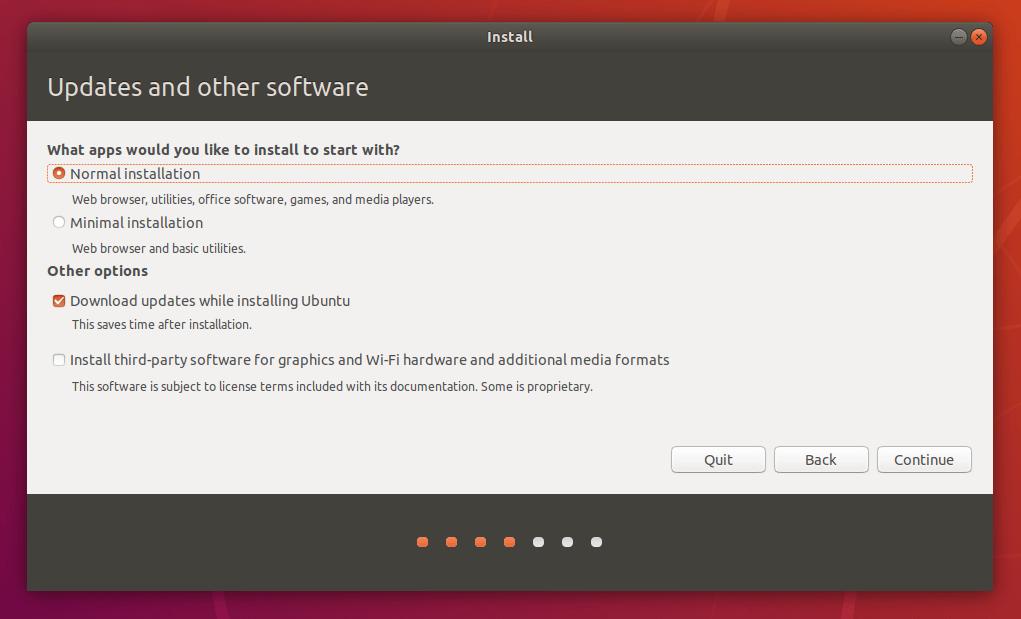 Téléchargement du système d'exploitation Linux