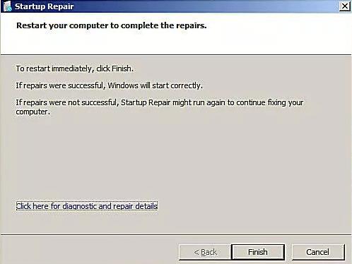 Redémarrez votre ordinateur