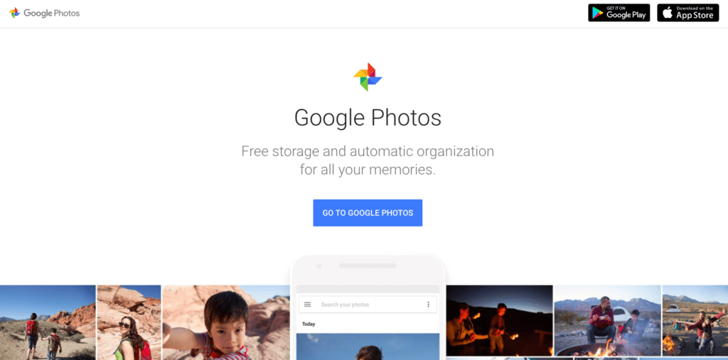 Google Photos - Meilleur visionneuse d'images