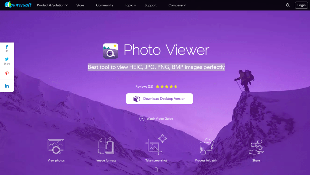Apowersoft - Meilleure visionneuse de photos