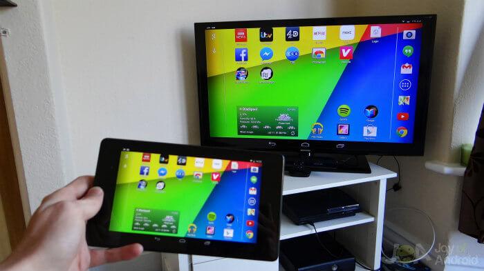 regarder smartphone sur tv