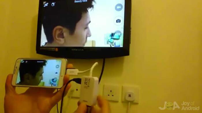 connecter le téléphone à la télévision