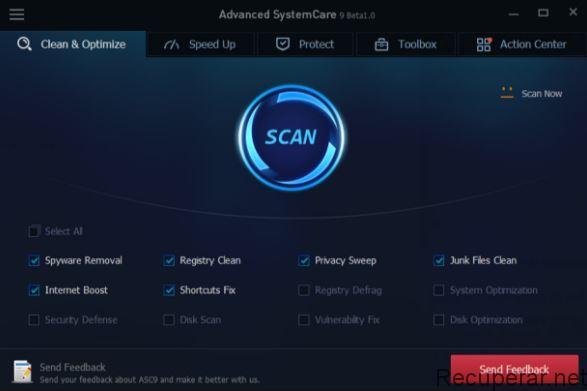 AdvancedSystem Care améliore les performances du PC