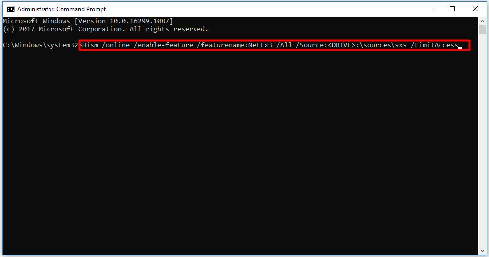 0x800f081f Windows 7
