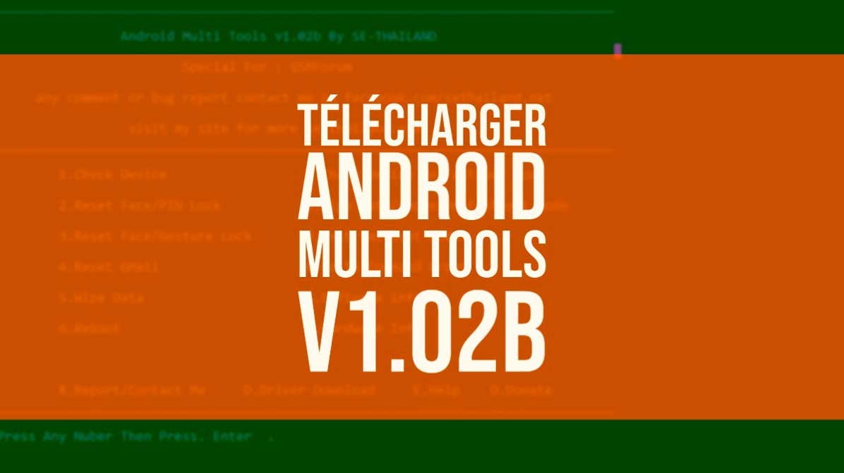Télécharger Android Multi Tools v1.02b