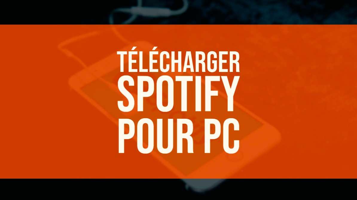 telecharger spotify pc