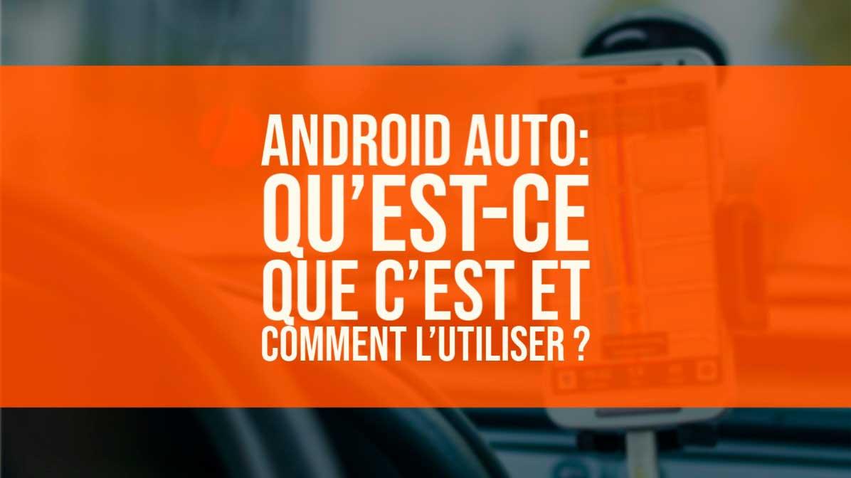 android auto app Français