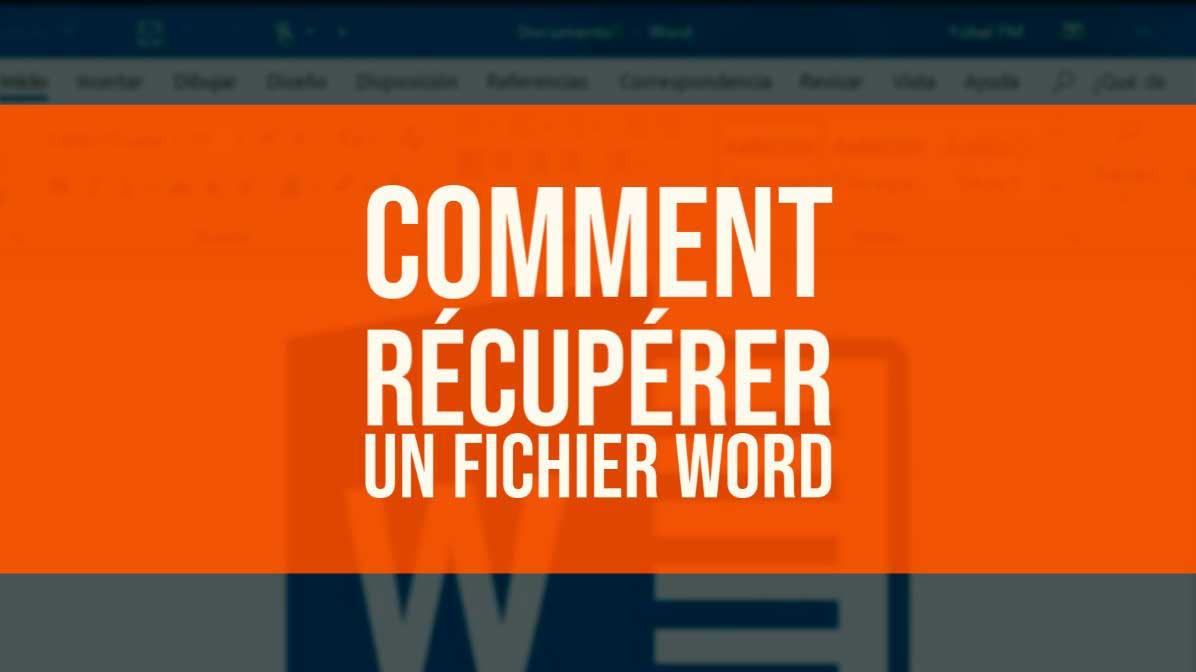 récupérer un fichier Word